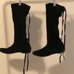 REAL SUEDE Slouch Boots